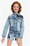bunda Desigual Alfilere jeans