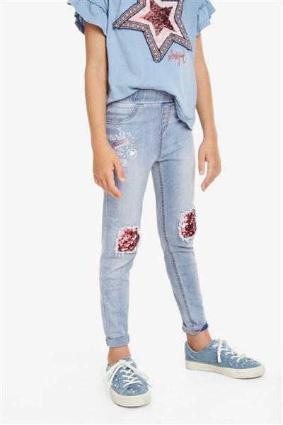 lacláče Desigual Bordonaba jeans velikost  11 12  66c9064c4d