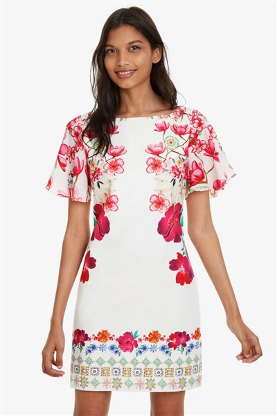 3d453d9f4b šaty Desigual Karuka rosa vento velikost  XS