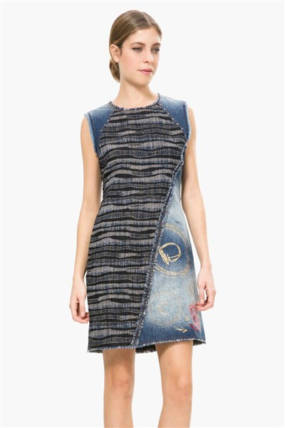 30f68081c2 šaty Desigual Sara negro velikost  S