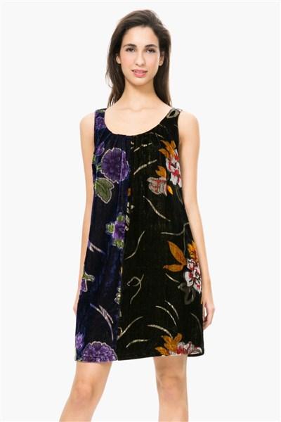 b8b6f52dcd šaty Desigual Sara 1 negro velikost  XL