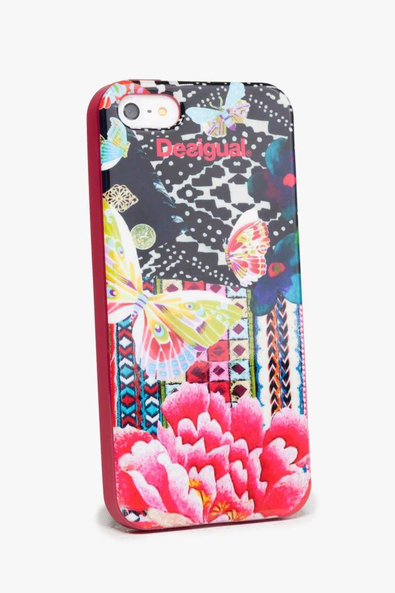 obal na telefon Desigual Iphone5 Sili fuxia magico velikost: U