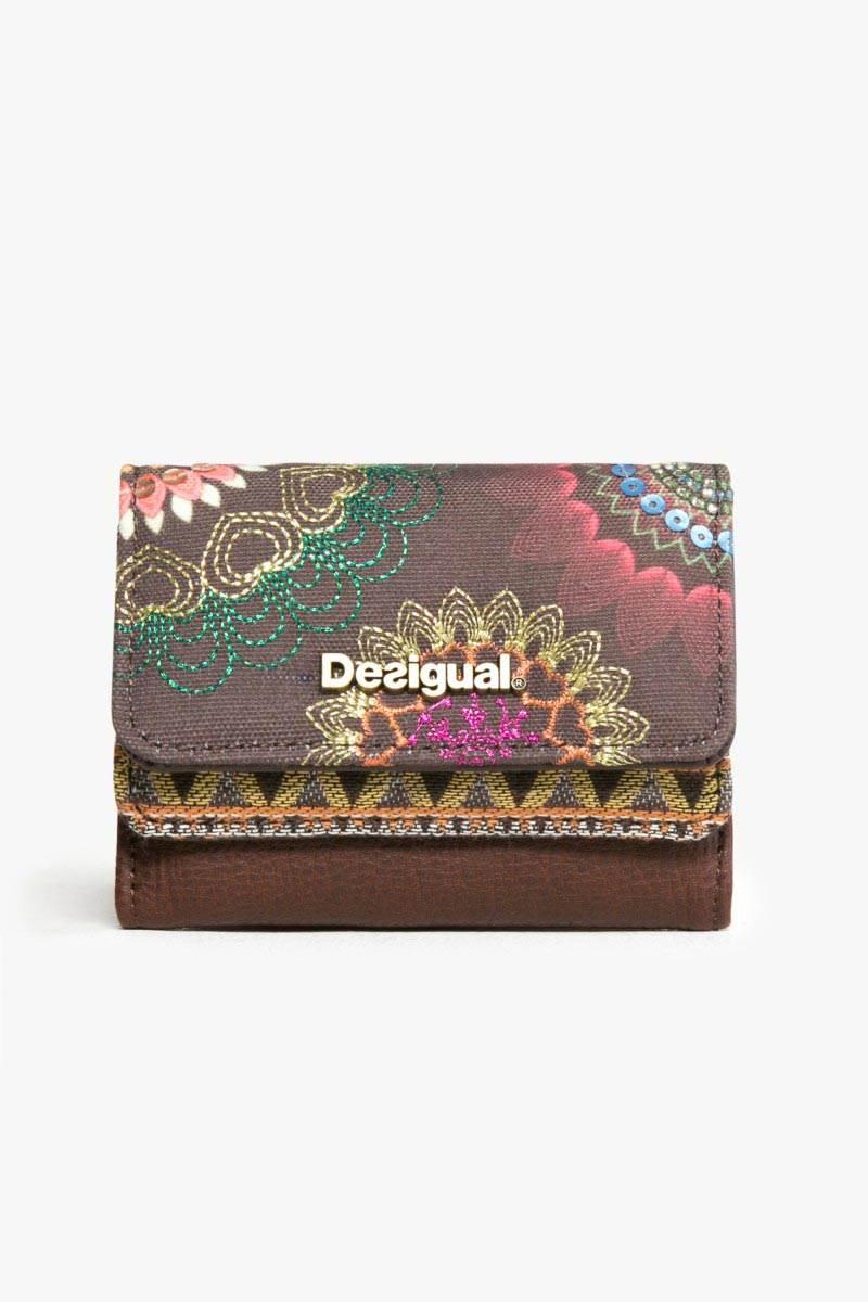 peněženka Desigual Mix Dakota chocolate velikost: U