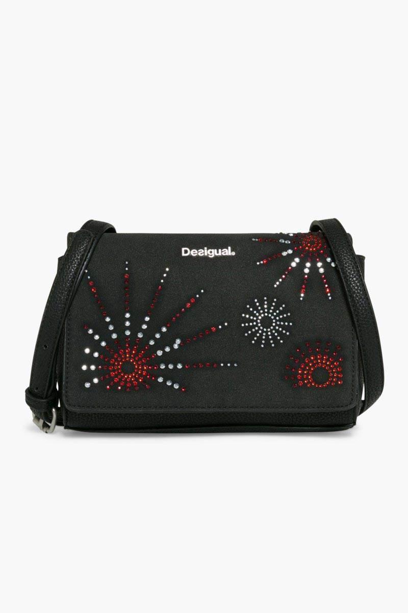 kabelka Desigual Dallas Blackstar negro velikost: U
