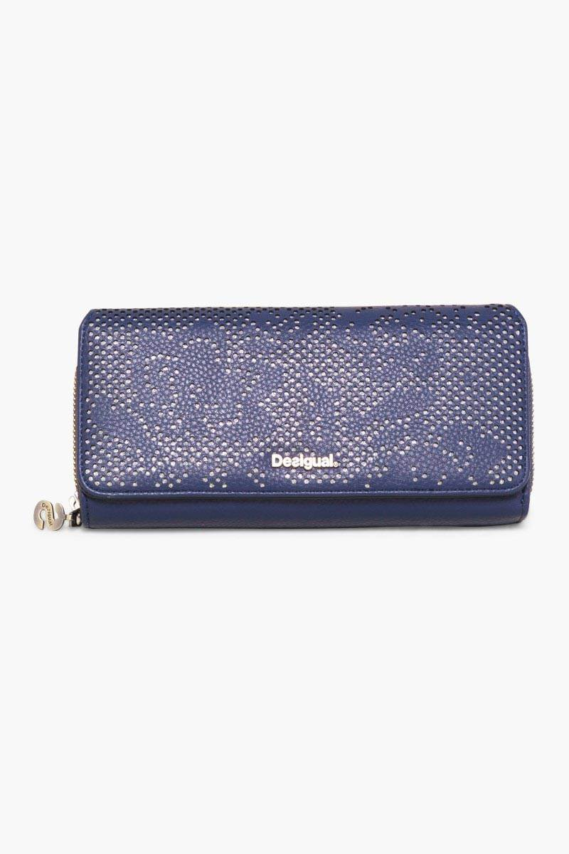 peněženka Desigual Maria Holewood azul retro velikost: U