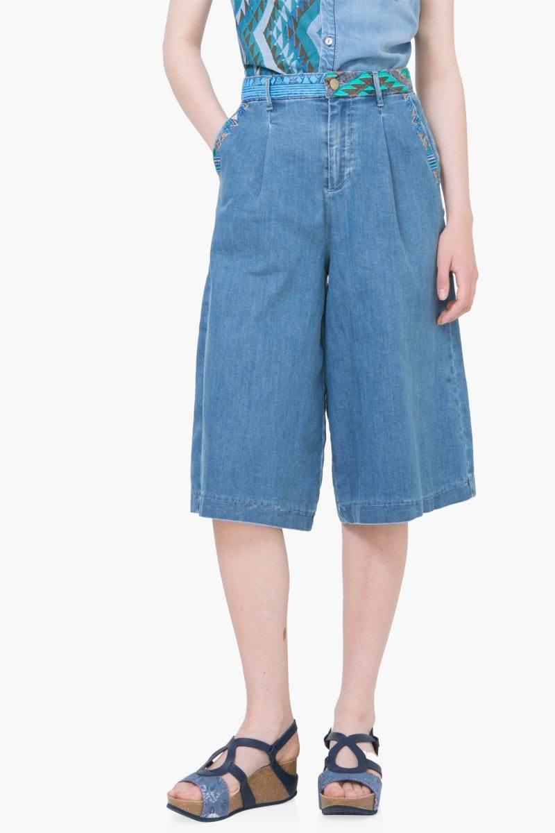 denim Desigual Denim Jeans 8 denim light wash velikost: 24