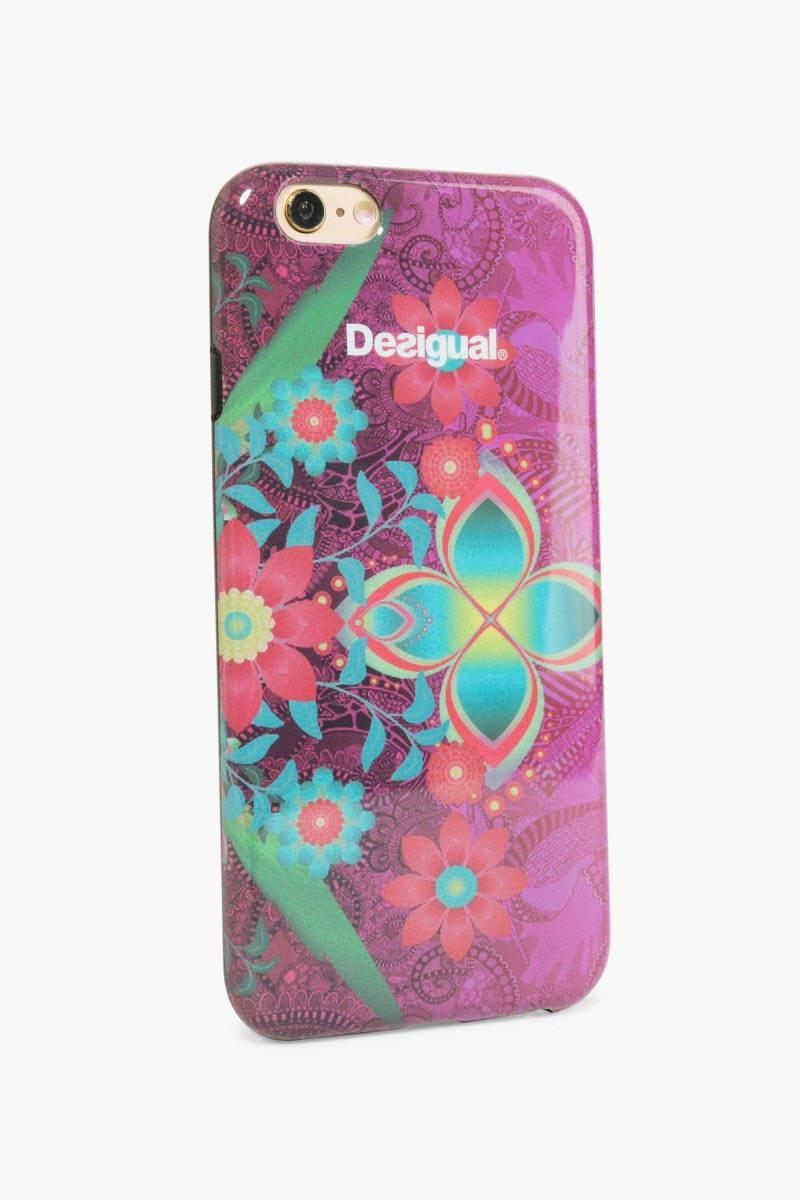 obal na telefon Desigual Iphone6 Silicona rose red velikost: U