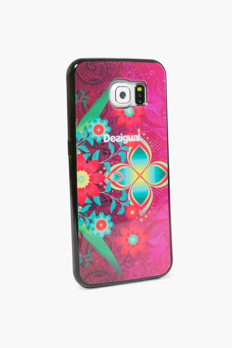 obal na telefon Desigual Samsung Galaxy6 rose red velikost: U