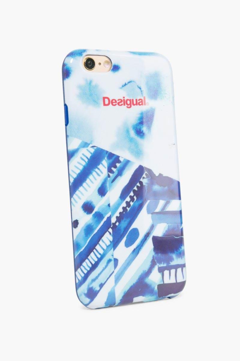 obal na telefon Desigual Iphone6 Silicona Spl navy velikost: U