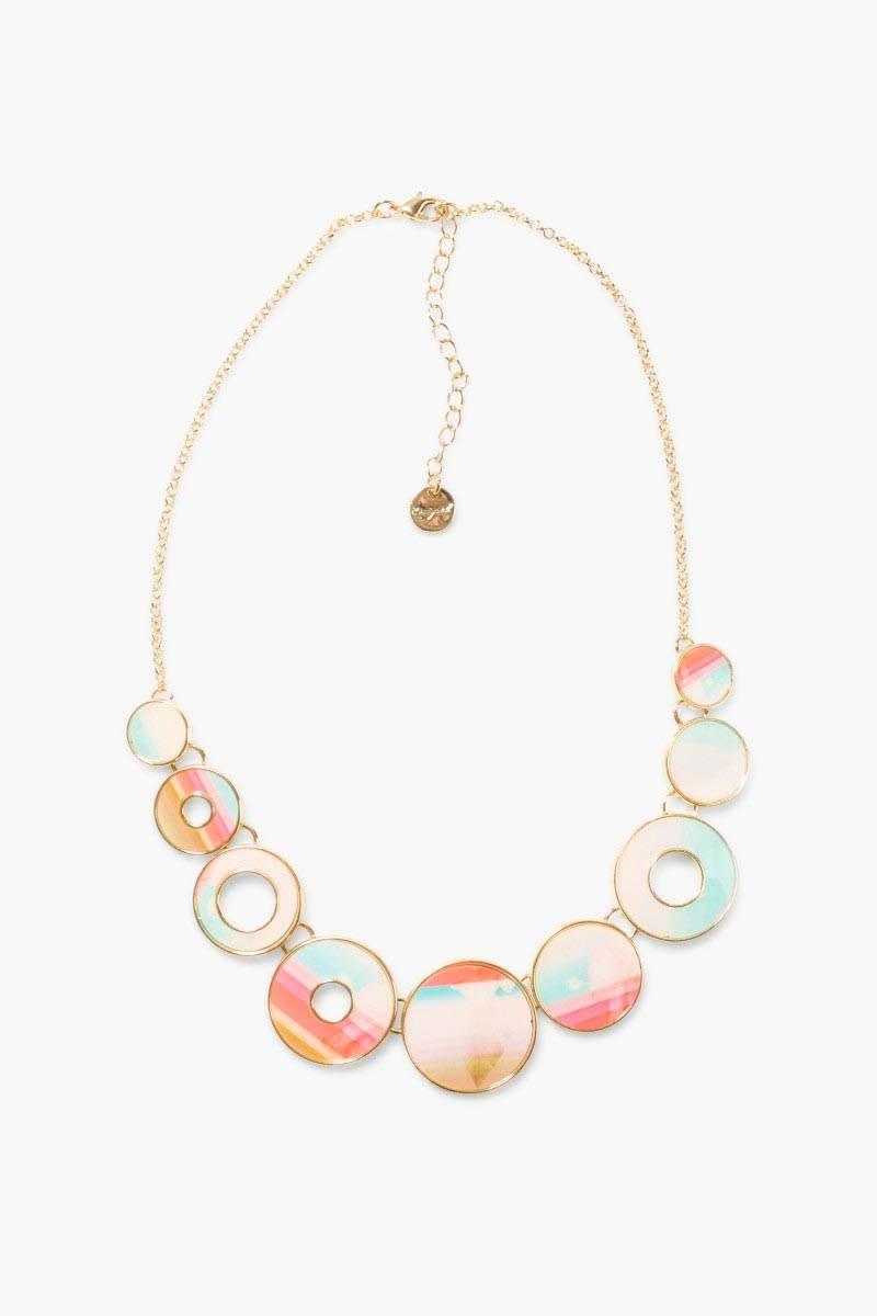 šperk Desigual Collar Bolas Polynesia carmin velikost: U