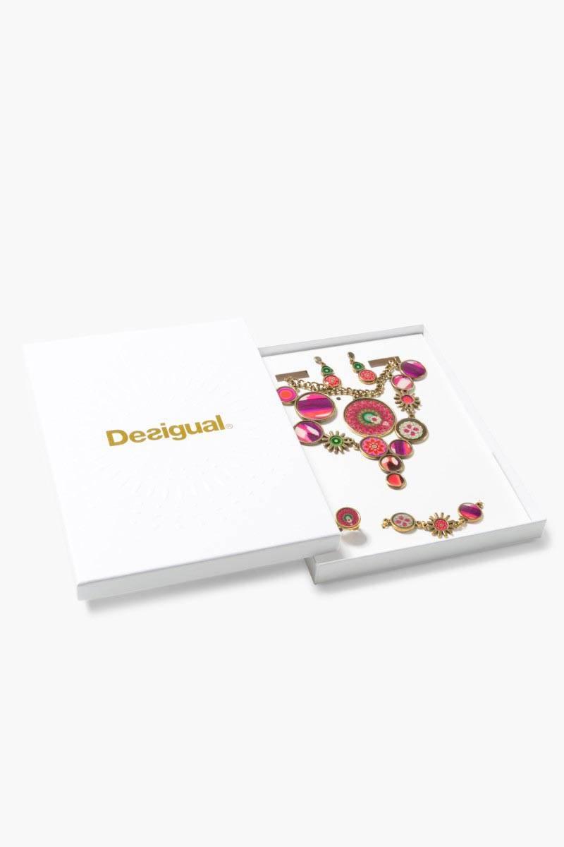 šperk Desigual Pack Summer magenta velikost: U