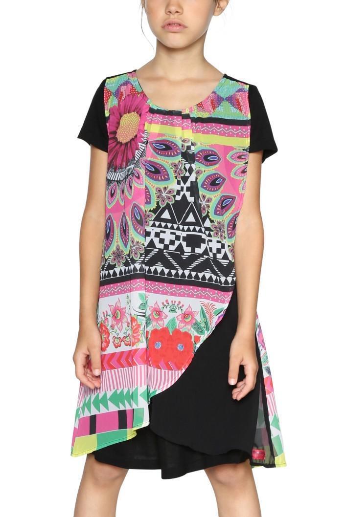 šaty Desigual Bissau negro  185348a35f8