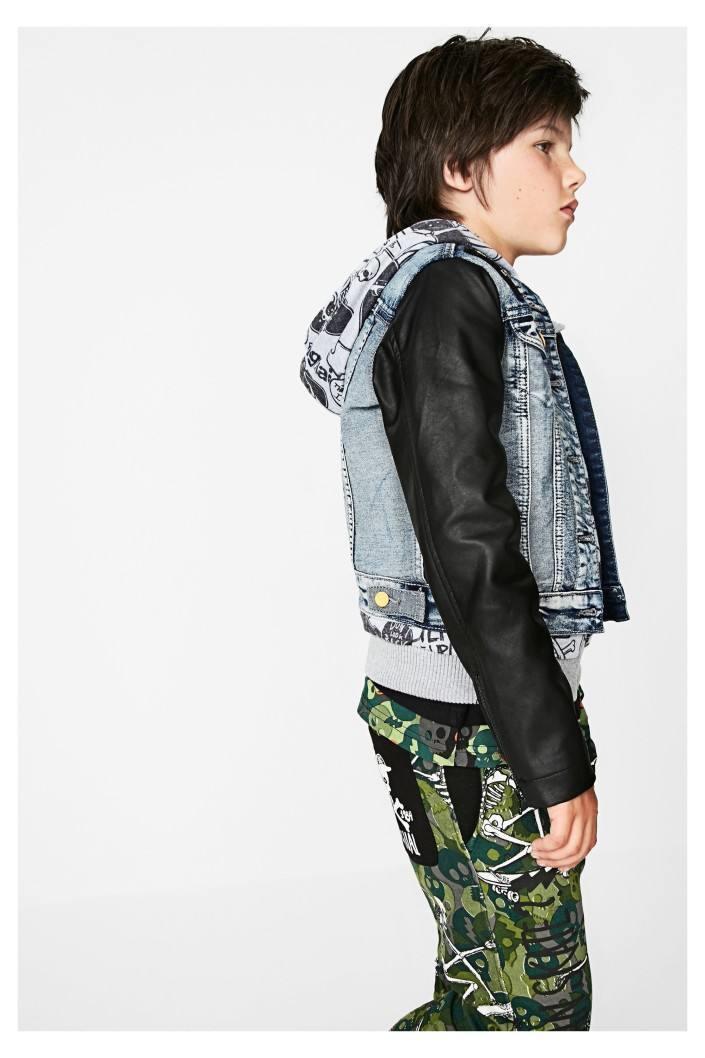 bunda Desigual Koldo jeans