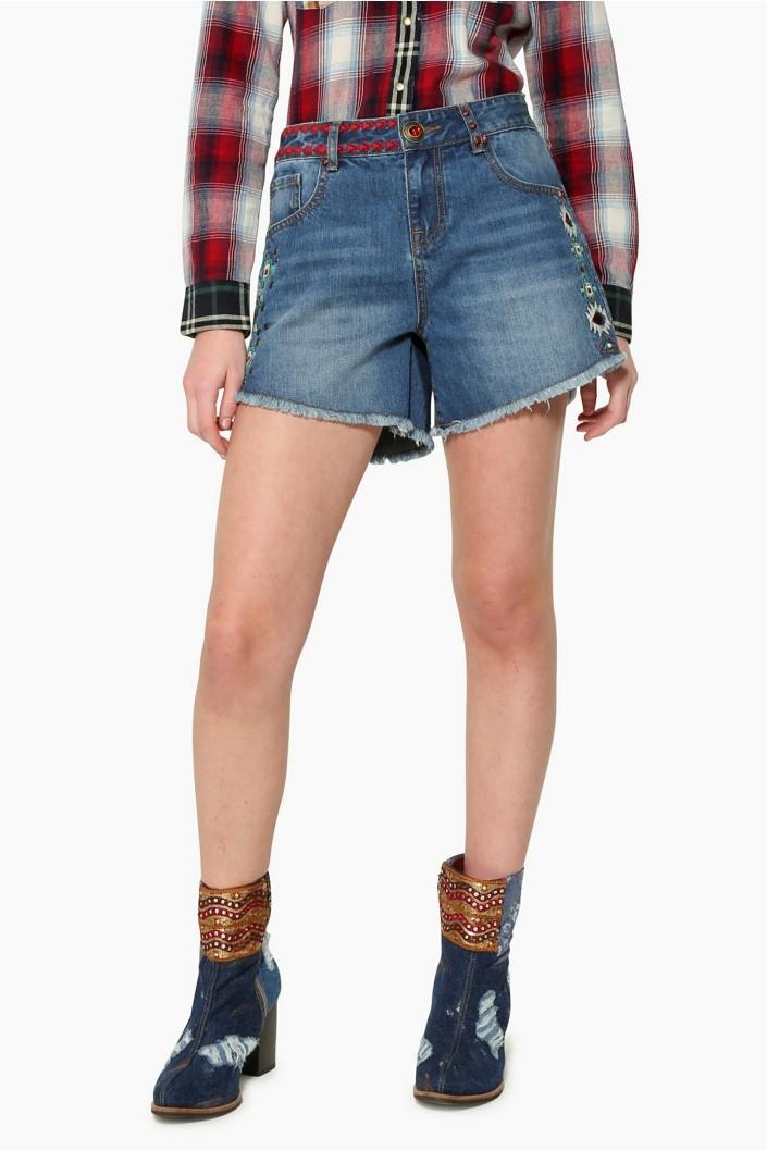 šortky Desigual Berta jeans velikost  30  5e4db34091