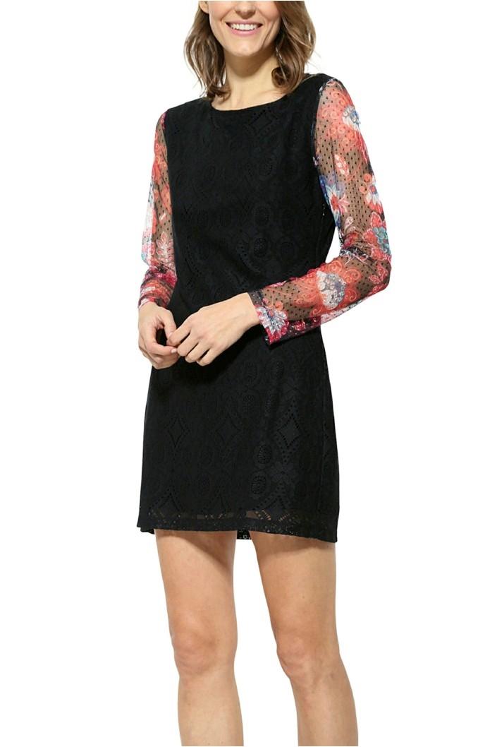 šaty Desigual Pichi Ml negro  d7100d06a8