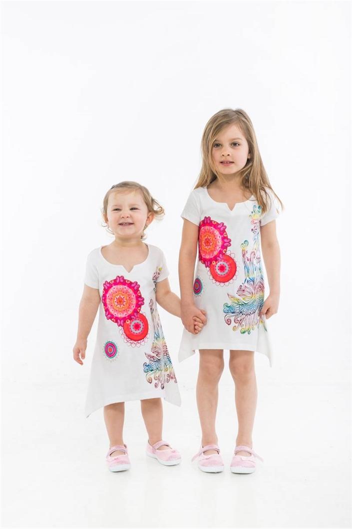 tričko Desigual Candy blanco