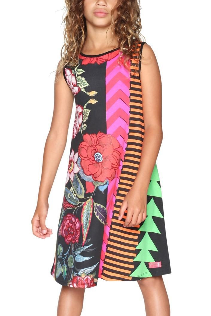 šaty Desigual Windhoek negro velikost  9 10  80b98f9bff1