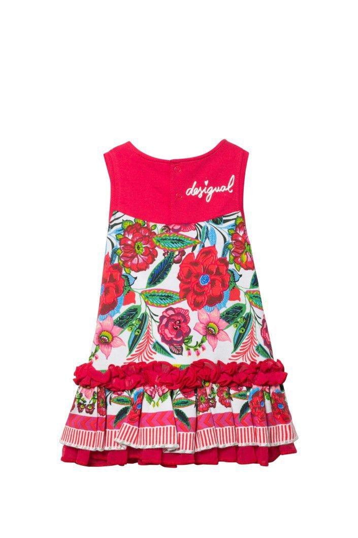 šaty Desigual Cristina virtual pink velikost  12  82b99e8d7a3