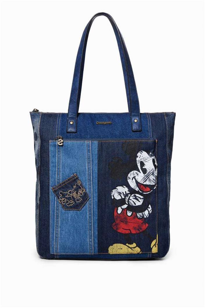 kabelka Desigual Exotic Mickey Bogota denim dark blue velikost  U ... 397b5c0f219