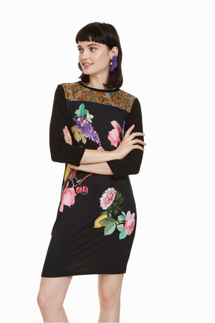eb8268726c1 šaty Desigual Vanity negro velikost  XXL