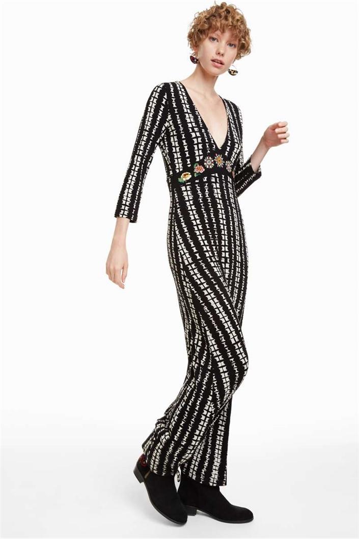 a64493fe76b šaty Desigual July negro velikost  M