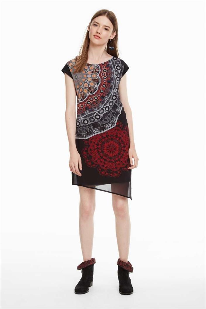 šaty Desigual Babilon negro
