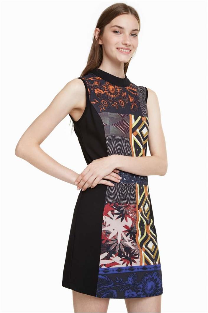 šaty Desigual Delfos negro