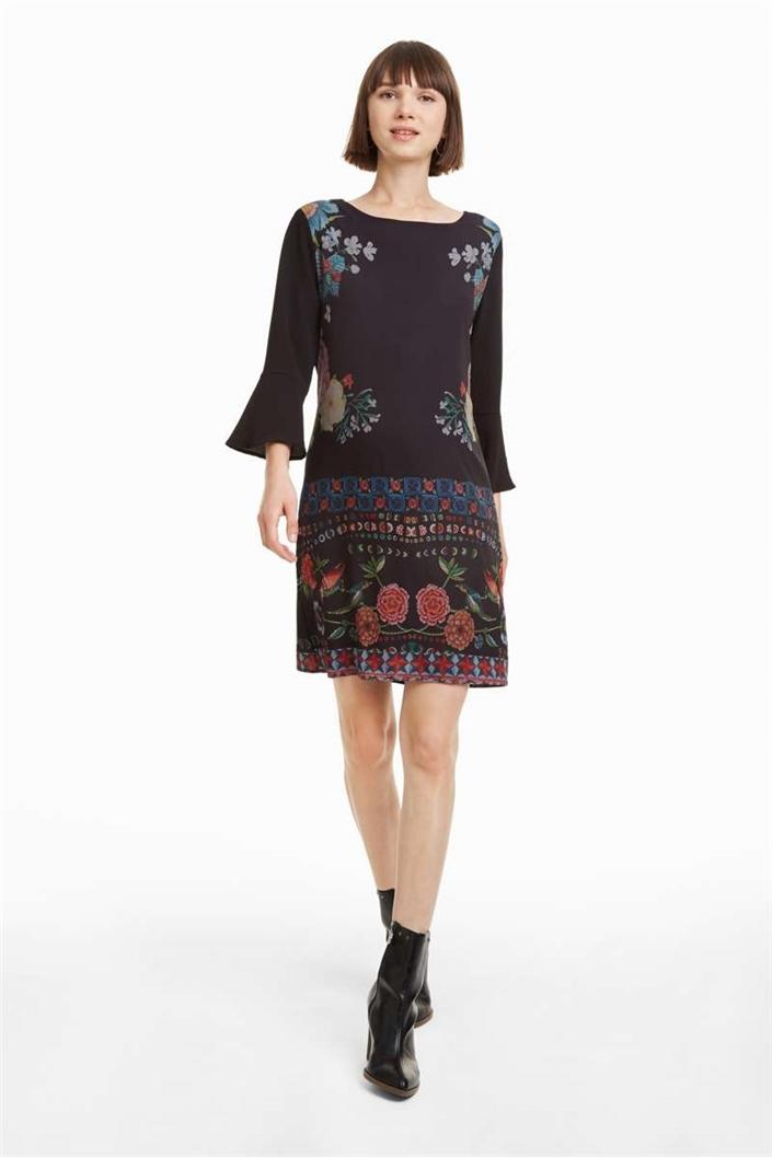 šaty Desigual Kramer negro velikost  36  31711f17a74