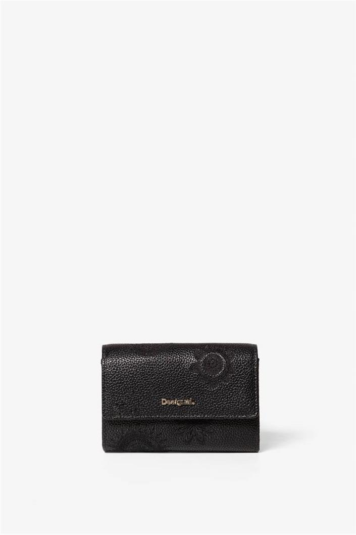peněženka Desigual Amber Alba negro  dc6ce367c64