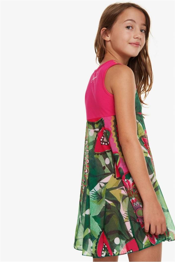 šaty Desigual Nuakchot verde kitting velikost  9 10  58bcd5ed280
