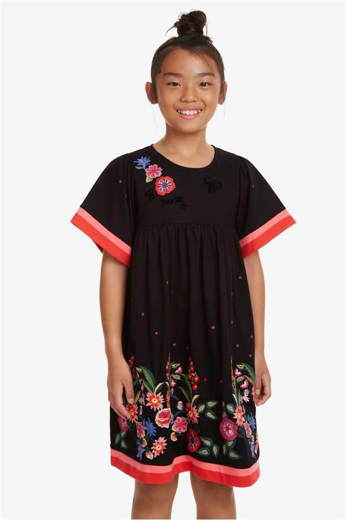 šaty Desigual Jacksonville negro  11bdb3ca90a