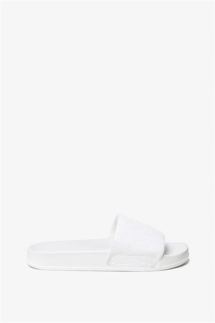 sandály Desigual Bio Patching blanco