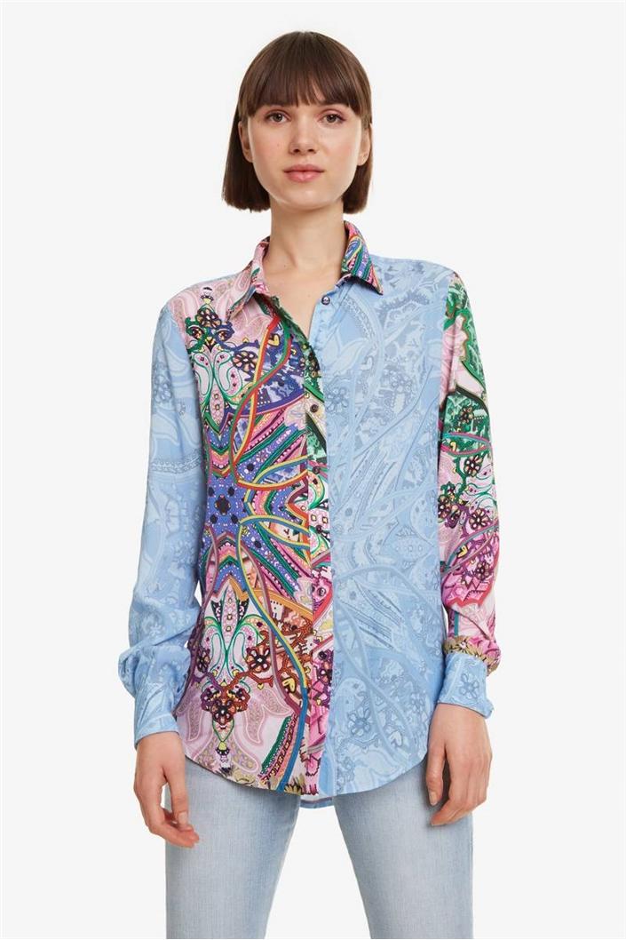 8f967bd04a košile Desigual Clarie rosa vento