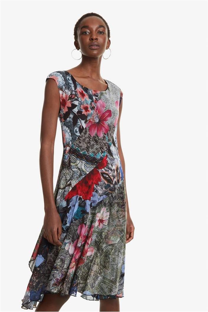 6ea76dee8c šaty Desigual Karuka rosa vento