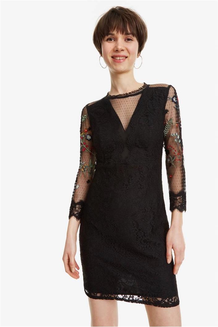 c67c0c42fd03 šaty Desgiual Mariella negro velikost  34
