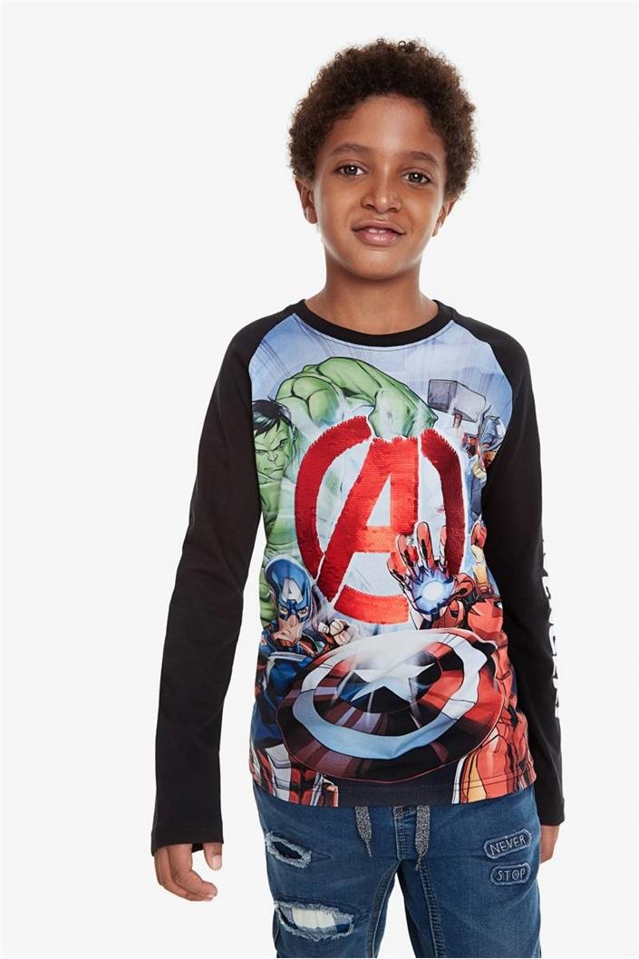 tričko Desigual George negro