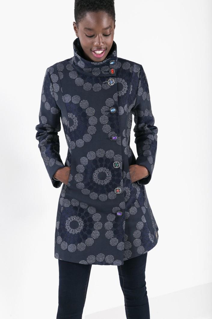 kabát Desigual Chaq Emy-Lee marino velikost  38  a561e119cad