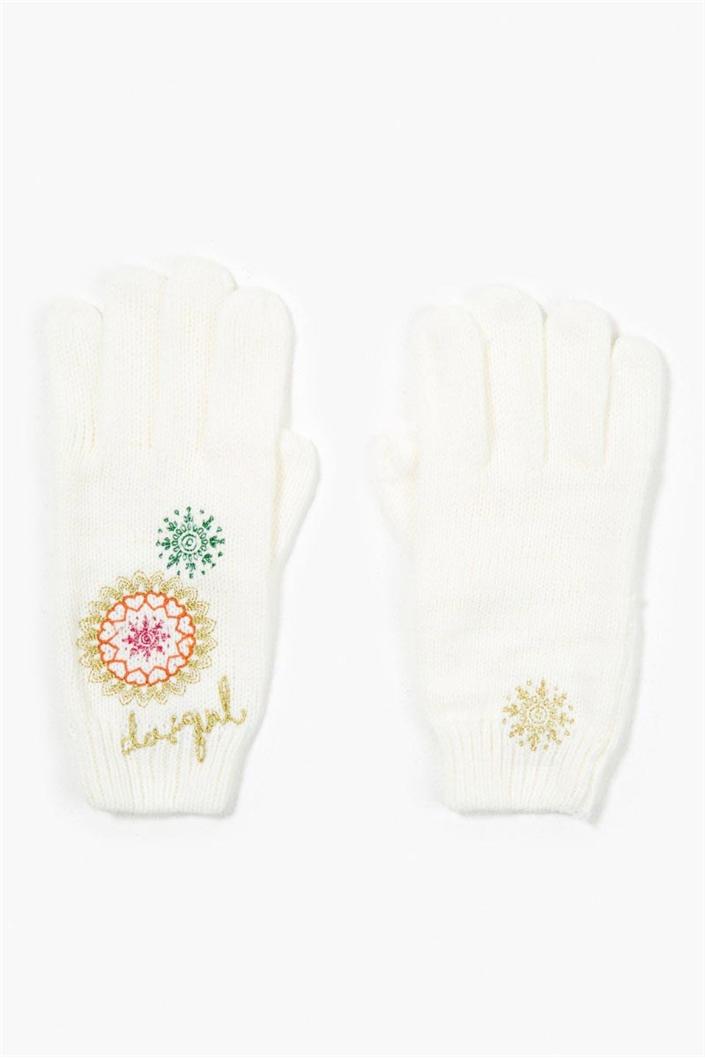 čepice a rukavice Desigual Dakota tiza