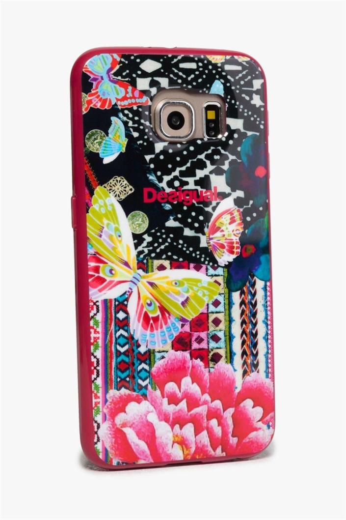 obal na telefon Desigual Samsung 6 L fuxia magico  ad6eb4678c2