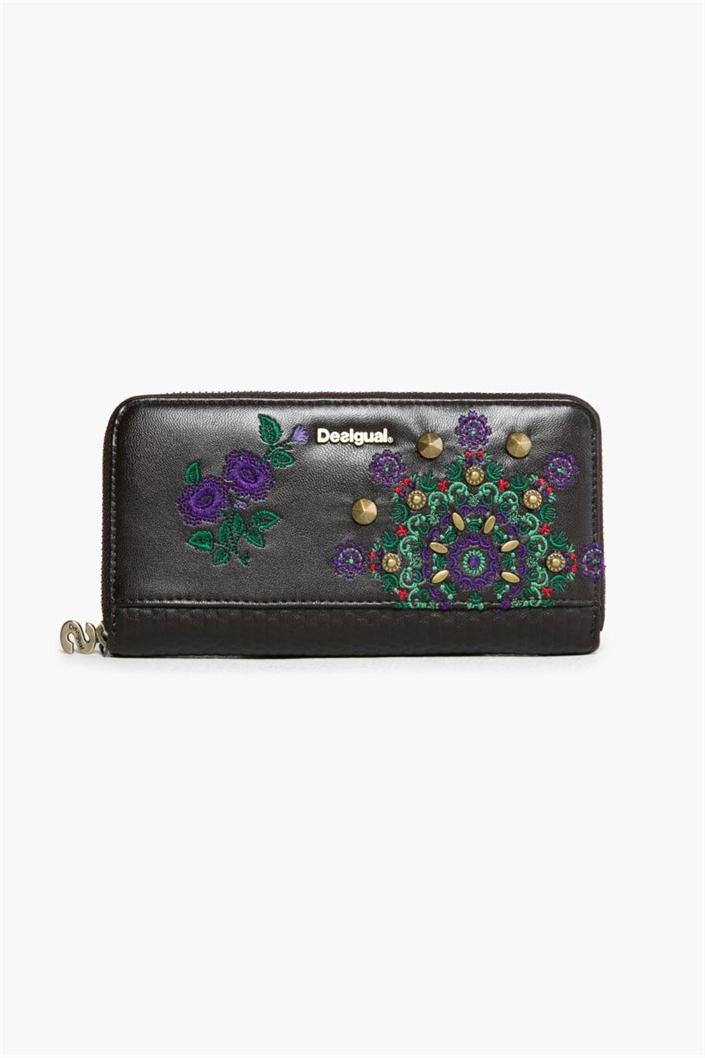 peněženka Desigual Zip Around New brown boho  2e736290b30