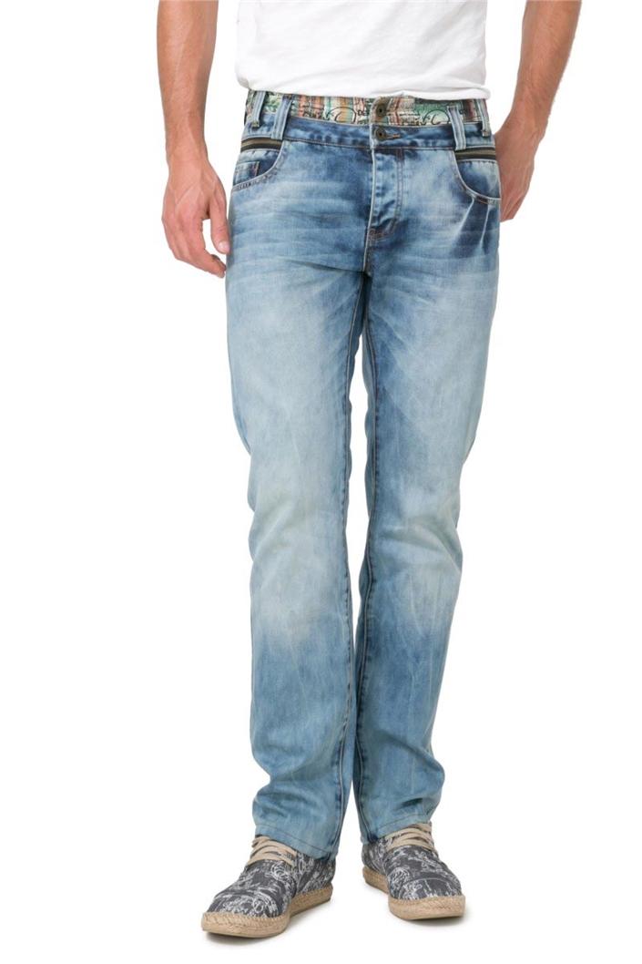 jeansy Desigual Denim Ummi denim medium wash  d4d645e28d