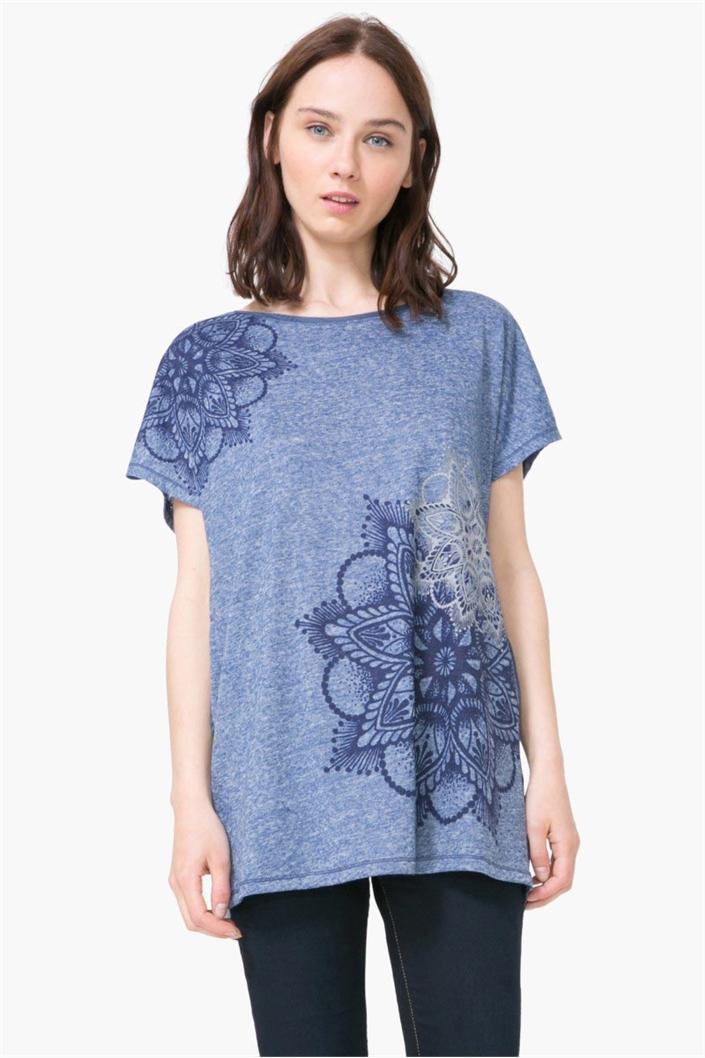 tričko Desigual Saruca graystone velikost  M  637c3878531