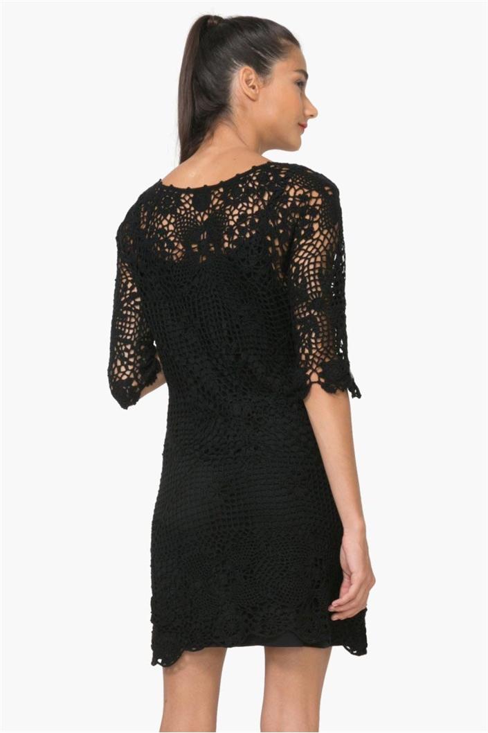 ac67e98015 šaty Desigual Sara 1 negro · Obrázek 2