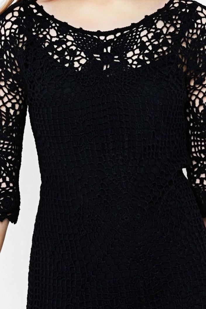 3053d2d741 šaty Desigual Sara 1 negro · Obrázek 2 · Obrázek 3