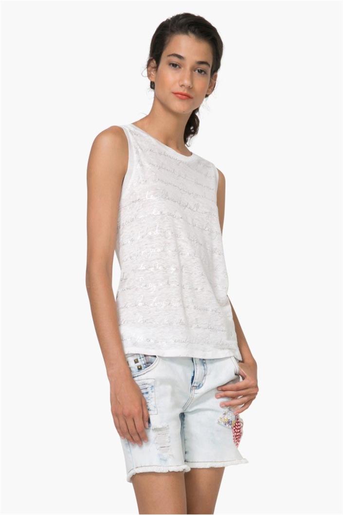 tričko Desigual Loli algodón