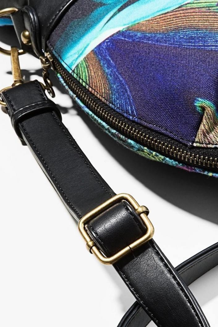 kabelka Desigual Folded B verde aturquesado. Obrázek 2. Obrázek 3 d9f202be7d7