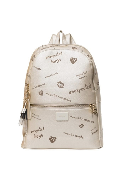 batoh Desigual Tell Me Milan oxford gray