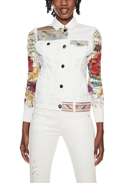 bunda Desigual Coat La-La For Yo denim nature