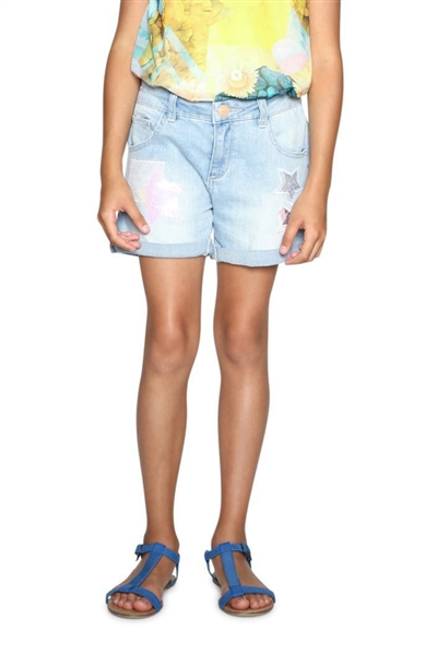 jeansy Desigual Denim Buend denim light wash