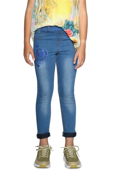 jeansy Desigual Denim Guaya denim light wash